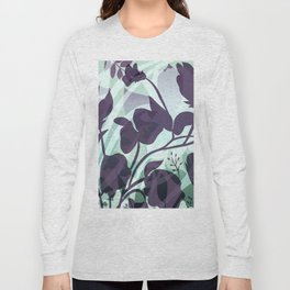 Sassy Sedge - cool colors Long Sleeve T-shirt