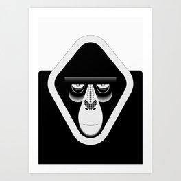 Monkee Art Print