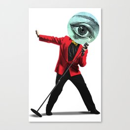 The Singer Canvas Print