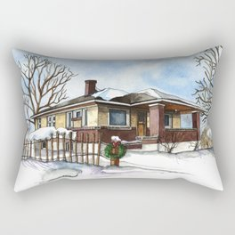 A Bungalow in the Country Rectangular Pillow