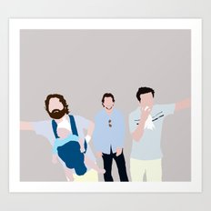 The Hangover Digital Print Art Print