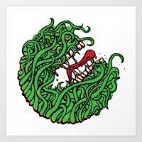 """Teeth"" Art Print"