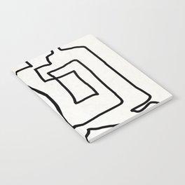 Abstract line art Notebook