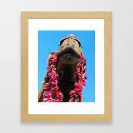 Ready for My Close Up Framed Art Print