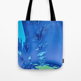 Sonic Invasion 1 Tote Bag