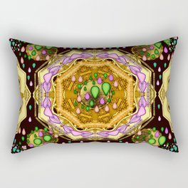 Raining love peace over the creation of life Rectangular Pillow