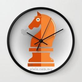 kn.eye.ght Wall Clock