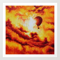 Up There. Art Print