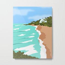 Domes Beach, Rincon, Puerto Rico Metal Print