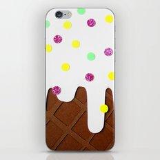 Ice-cream Papercut iPhone & iPod Skin