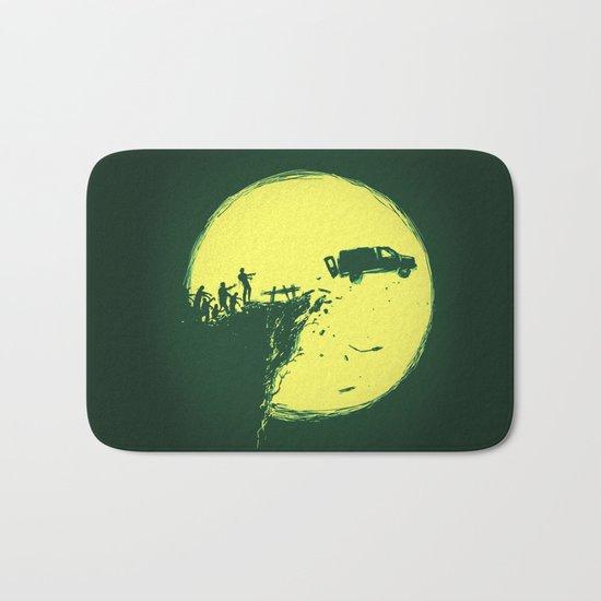 Zombie Invasion Bath Mat