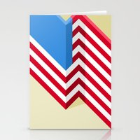 flag Stationery Cards featuring Flag by Ryan Winters