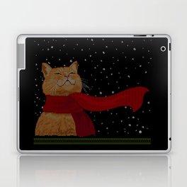 Knitted Wintercat Laptop & iPad Skin