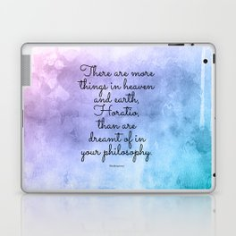 There are more things in heaven and earth, Horatio, than are dreamt of in your philosophy. Laptop & iPad Skin