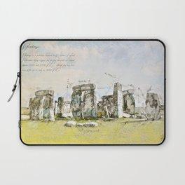 Stonehenge, England Laptop Sleeve