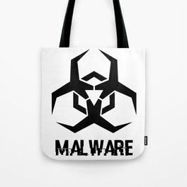 MALWARE Logo Tote Bag