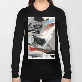 Untitled (Painted Composition 4) Long Sleeve T-shirt