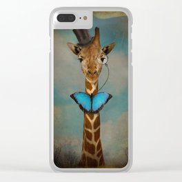 Sir Alfred Clear iPhone Case