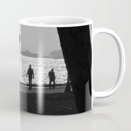 silhouette in Istanbul Coffee Mug