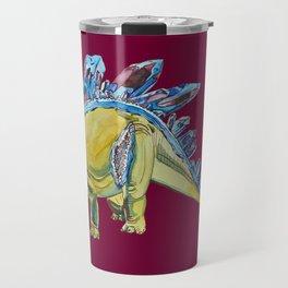 Stegosaurus Geode Travel Mug