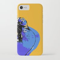 pigeon iPhone & iPod Cases featuring Pigeon by Aimee St Hill
