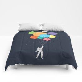 Planet Balloons Comforters