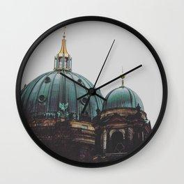 Copper dome Wall Clock