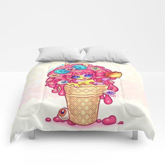 Ice-Cream Zombie Girl Comforters