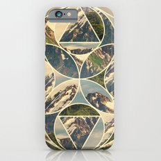 Geometric mountains 1 iPhone 6s Slim Case