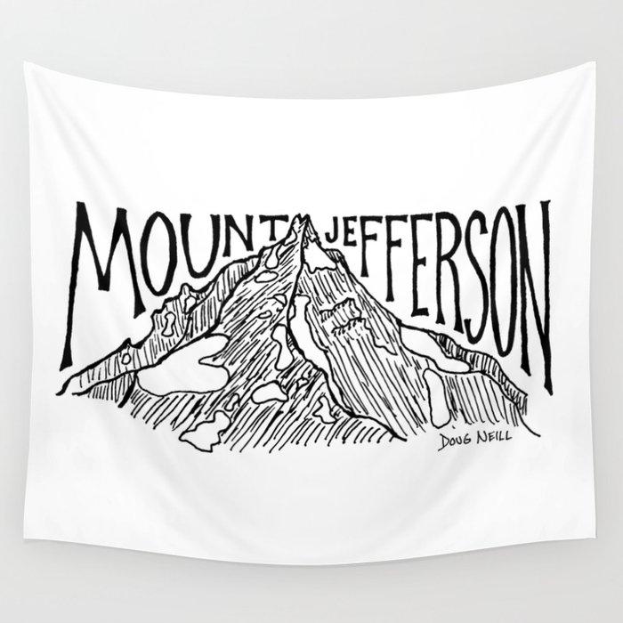 Mount Jefferson Wall Tapestry