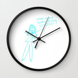 Oversized Everything Wall Clock
