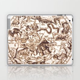 Unknown Celestial Map of the Southern Hemisphere, 17th Century Laptop & iPad Skin