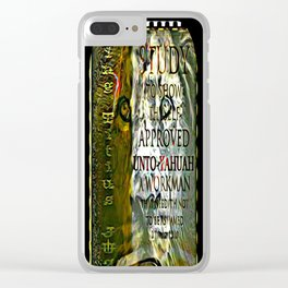 Scripture Pictures 07 Clear iPhone Case