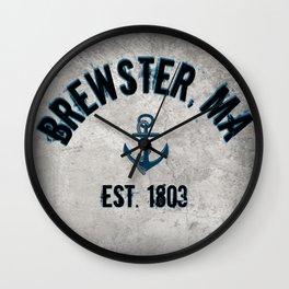 Brewster, Massachusetts Wall Clock