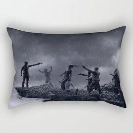 TWD Zombie Cliffhanger Rectangular Pillow