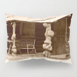 Old Log Cabin Pillow Sham