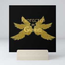 Protected by Gabriel Mini Art Print