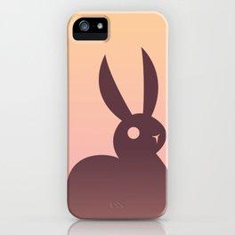 Dusk Bunny iPhone Case