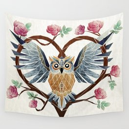 lovely owl Wall Tapestry