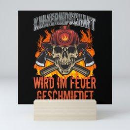Feuerwehr Kameradschaft Mini Art Print