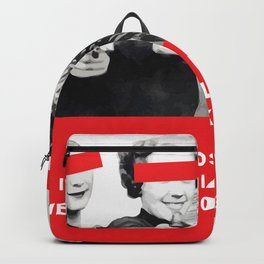 We Want 1000K Followers Graphic Design Poster Art Backpack