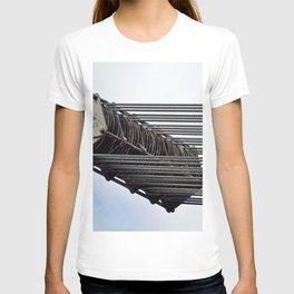 Mechanical Ship Pulley T-shirt