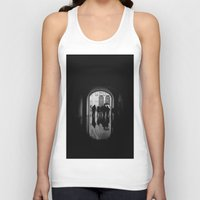 mirror Tank Tops featuring Mirror by KHINITO