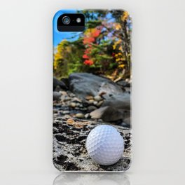 Fall on the Carrabassett (1) iPhone Case
