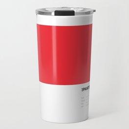 Not Pantone Collection #ED2E38 John Mayer Blushing Travel Mug