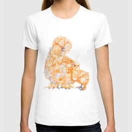 Silkie Chickens - Daisy T-shirt