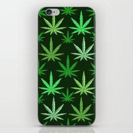 Marijuana Green Leaves Weed iPhone Skin