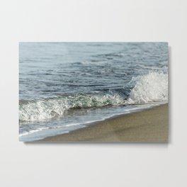 Sandy beach wave 0509 Metal Print