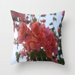 Bougainvillea At Daybreak Throw Pillow