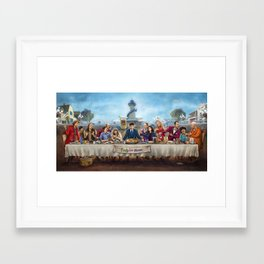 The Arrested Supper Framed Art Print